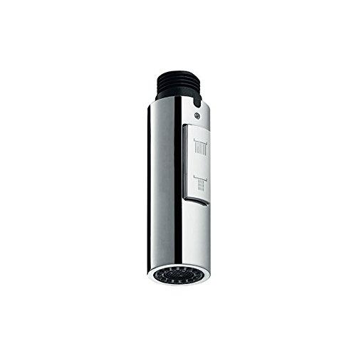 Idro Bric 1 Doccetta di Ricambio Universale per Lavello Cucina ad Installazione Verticale-Due Getti Anticalcare, Cromato