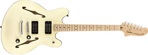 Fender Squier Affinity Starcaster MN Olympic White. Guitarra...