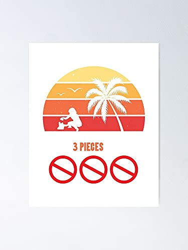 AZSTEEL Beach Clean-up Every Time Pick Up 3 Pieces of Plastic Poster Best Gift for Mothers Day