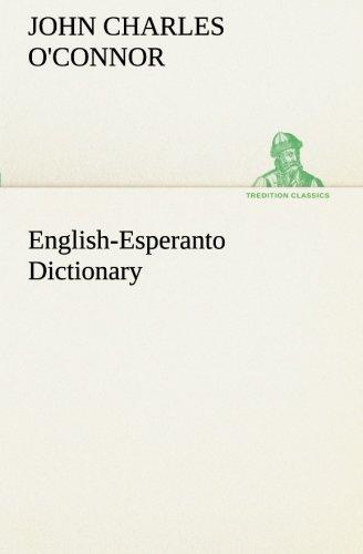 English-Esperanto Dictionary (TREDITION CLASSICS) (Paperback)