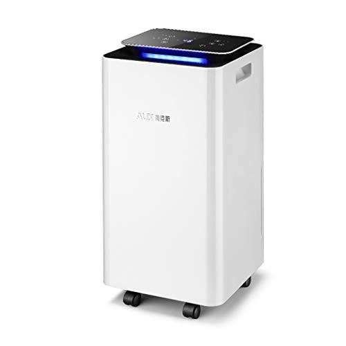 Deshumidificador Industrial para sótanos, secador de Aire de Alta Potencia, Control de Pantalla táctil Inteligente, Tanque de Agua con Capacidad de 2.5L, se Puede conectar a la tubería de Drenaje