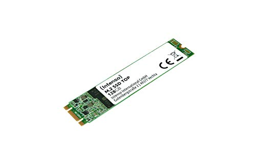 Intenso M.2 SSD interno SATA III Top Performance, 128 GB, 520Mb/s