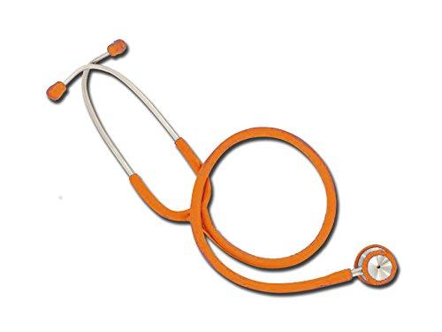 Gima 32577 Stetoscopio duofono Wan, Adulti, Lira Arancione