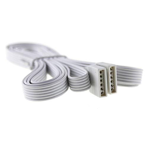 RGBW + CCT Verlängerung 2 Meter Plug & Play; Anschlusskabel für 6-polige (PIN) RGB+W CCT LED Streifen RGB + CCT