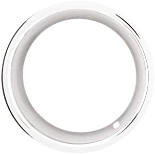 Eagle Flight 15x8 Deep Dish Chrome Plated Stainless Steel Beauty Trim Rings