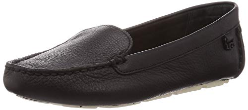 UGG Female Flores Shoe, Black, 9 (UK)