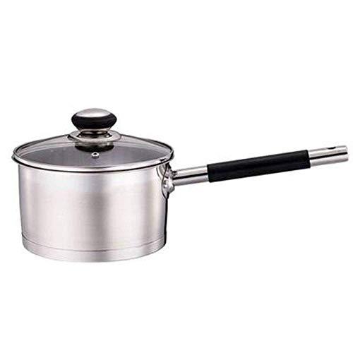 Thicken 304 Stainless Steel Pot Melk Pan Non-Stick Pan Babyvoeding supplement Pot Instant Noodle Household Pot van de Soep Steamer verdikking (Grootte: 18cm) dsfhsfd (Size : 18cm)