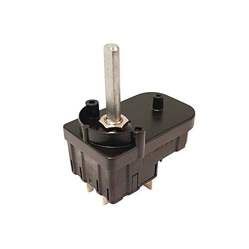Nisbets AF363 - Temporizador para tostadora Dualit compatible 01362, 55 mm x 34 mm, color negro