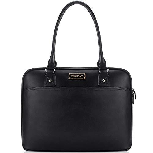 Laptop Tote Bag,EDODAY 15.6 Inch Computer Bag Women Shoulder Laptop Bags Case...