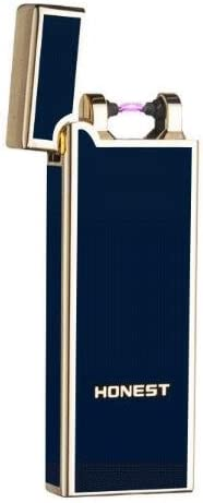 Single Arc USB Rechargeable Flameless Windproof Electronic Metal Lighter