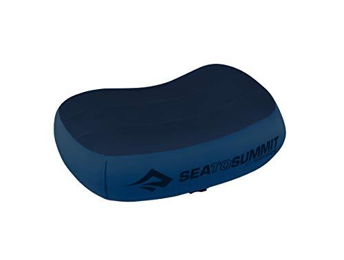 Sea to Summit Aeros Premium Pillow R Almohada Montañismo, Alpinismo y Trekking, Adultos Unisex, Azul (Blue), Talla Única