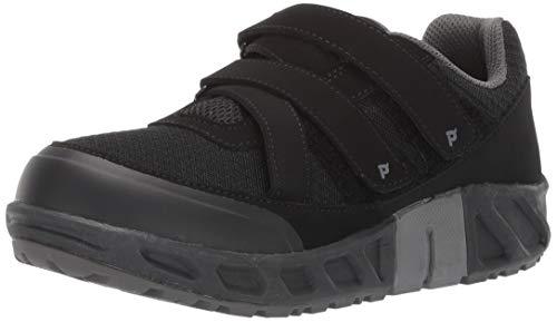 Propét Matthew Strap Chaussures de Sport pour Homme Noir - Noir - Noir, 44 EU