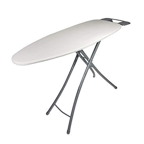 Homz Wide Top Ironing Board, Light Tan Cover, Khaki