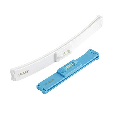 Original CreaClip - Haarschneide Hilfe Clip - Haare selber schneiden leicht gemacht - Professionelles Haarschneidewerkzeug Set