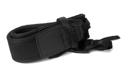 DURAGADGET Lanière/bandoulière légère et résistante - Noir - Compatible avec Appareil Photo Sony SLT-A58K CEC, DSC-HX400V et Pentax K-50 Reflex numérique 3\