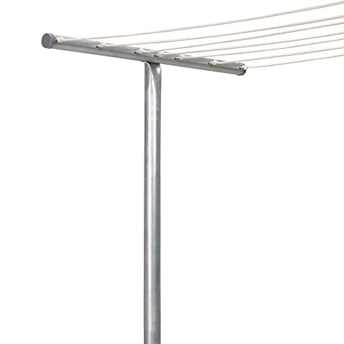 outside clothes line pole