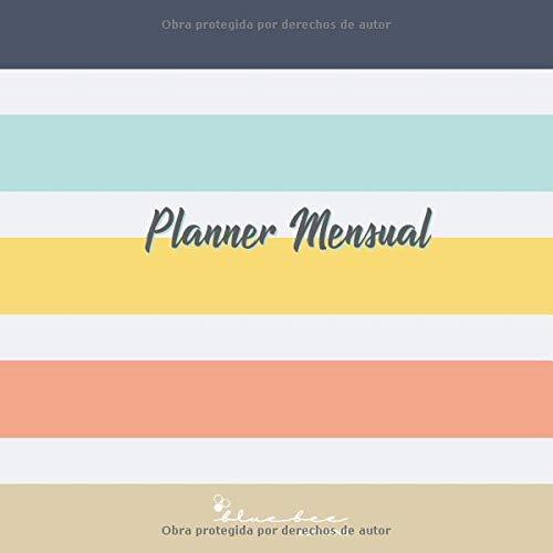 Planner Mensual: Planificador mensual con 24 meses