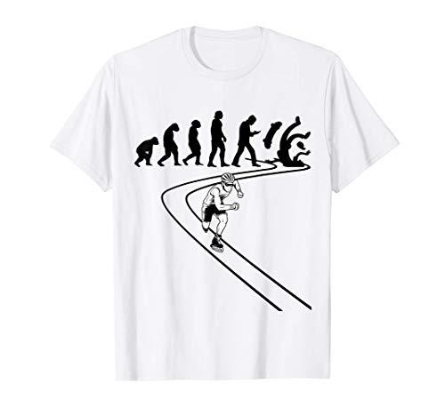 Pattinaggio Inline-Skating Inline-skates Inline-Skater Maglietta