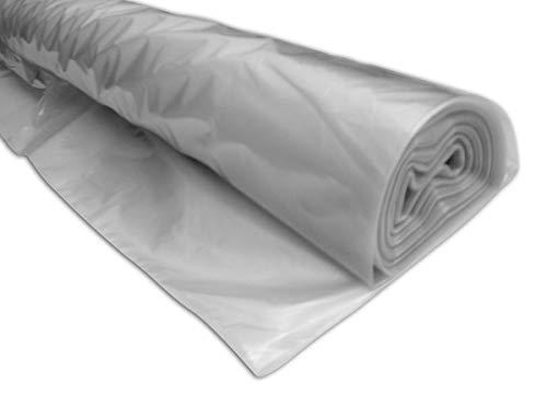 Polyethylenfolie, temporäre Schutzfolie, transparent, 25 m x 4 m, 40 Mikron