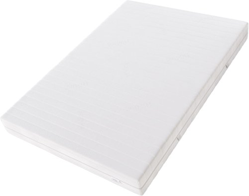Hilding Sweden Komfortschaum (RG32) Mittelfeste 7-Zonen Matratze für Alle Schlaftypen (H3)/200 x 90 x 21 cm Kaltschaummatratze, Schaumstoff, Weiß, 200 x 90 cm