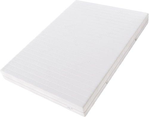 Hilding Sweden Komfortschaum (RG32) Mittelfeste 7-Zonen Matratze für Alle Schlaftypen (H4)/200 x 90 x 21 cm Kaltschaummatratze, Schaumstoff, Weiß, 200 x 90 cm