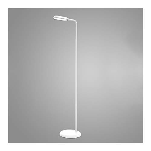 Solarl Tafellamp voor woonkamer, bank, moderne led, leerlamp, bureaulamp, bedlamp, 3 niveaus, verticale dimming, leeslamp, staande lamp