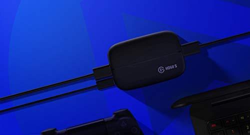 Elgato Game Capture HD60 S Gameplay (1080P 60FPS Capture streamen, aufnehmen und Teilen, Low Latency Technologie USB 3.0 (Extern), für PS4 und Xbox One)