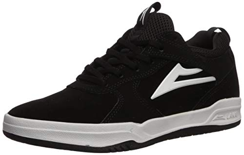 Lakai Footwear Summer 2019 Tennis Shoe, Black Suede 120B00, 6 M US