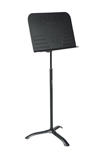 Gator Frameworks Standard Sheet Music Stand with Adjustable Height; (GFW-MUS-1000), Black