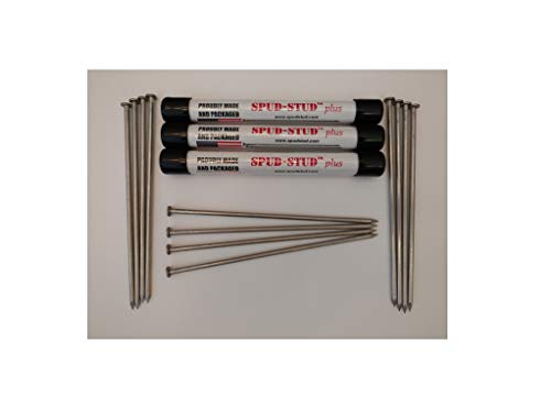Baking Nails - 8 inch Stainless Steel 12 pack - Spud-Stud Plus