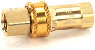 T&S Brass AG-5C 1/2-Inch Gas Appliance Connectors with Quick Disconnect