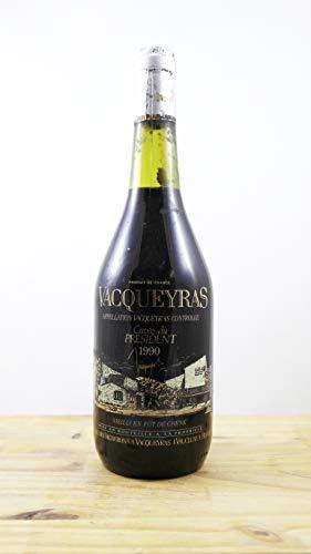Wein Jahrgang 1990 Vacqueyras Cuvée du Président CS Flasche