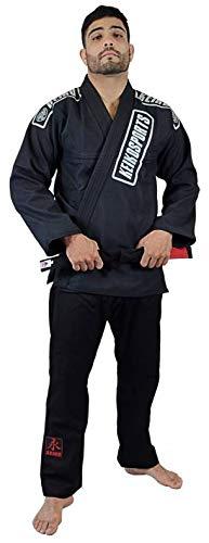 Keiko Sports Kimono Jiu Jitsu, Tam A4, Preto