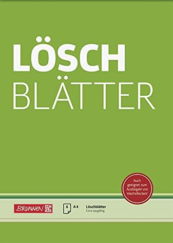 Brunnen 1041546 Löschblattblock (A4, 6 Blatt)