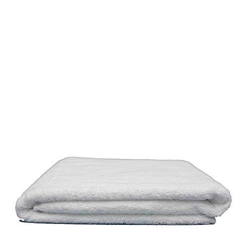 Toalla de Ducha Damasco 70x140 cm, 100% algodón de 520 g/m2 con Rizo Americano de 1 Cabo 0645760709932