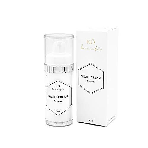 KÖ beauté Night Cream Hoch- und niedermolekulare Hyaluronsäure für sichtbar mehr Spannkraft der Haut und Glättung der Falten