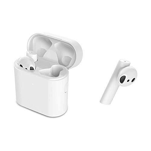 Xiaomi Mi True Wireless Kopfhörer 2S Kabelloses Headset mit Wireless-Aufladung Bluetooth 5.0 Double Tap-Steuerung SBCAAC LHDC-Audio-Codec 5 Stunden Akkulaufzeit Weiß