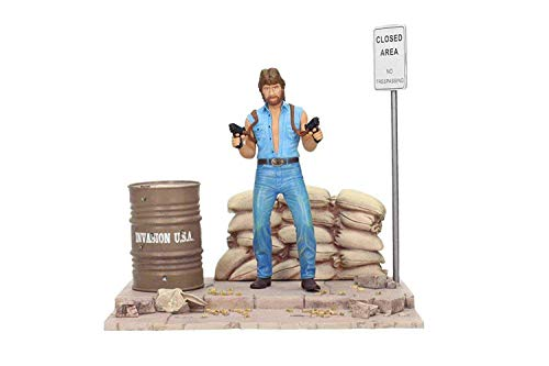 SD toys Matt Hunter (Chuck Norris) Set mit Diorama. Figur 18 cm Tough Guy MGM, Mehrfarbig (SDTMGM20076)