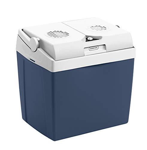 Mobicool MT26 AC/DC 26 L - Tragbare Thermo-Elektrische Kühlbox, Blau Metallic, 25 Liter, 12 V Und 230 V Für Auto, LKW Und Steckdose,  A++