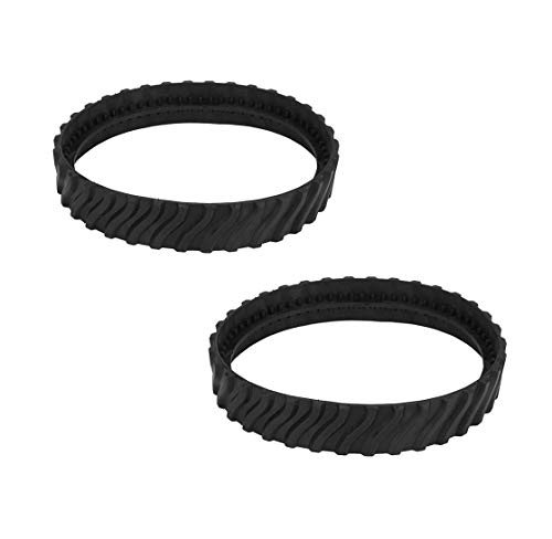 Best Buy! Toolsco 2PCS Reliable R0526100 Tire Track Wheels with Heavy Duty Rubber. Replacement Part ...