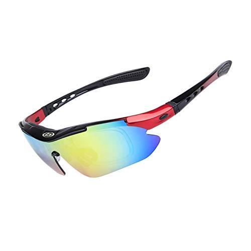 Blisfille Gafas para Motocross Gafas para Futbol Graduadas,Vistoso