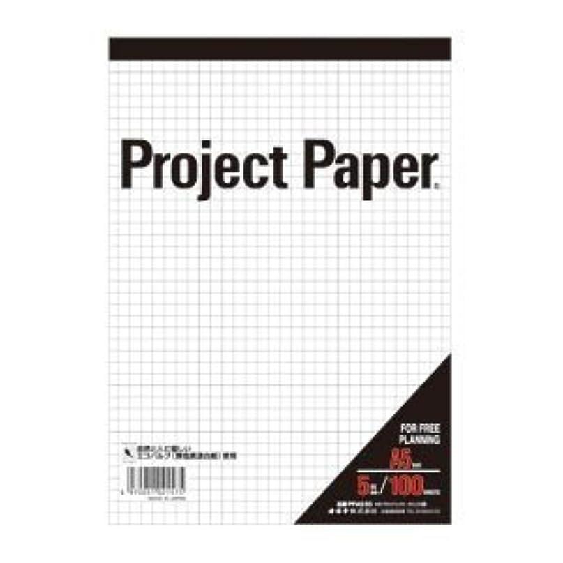 ポップメカニックでるオキナ A5プロジェクト 5ミリ方眼 PPA55S 00001598 【まとめ買い10冊セット】