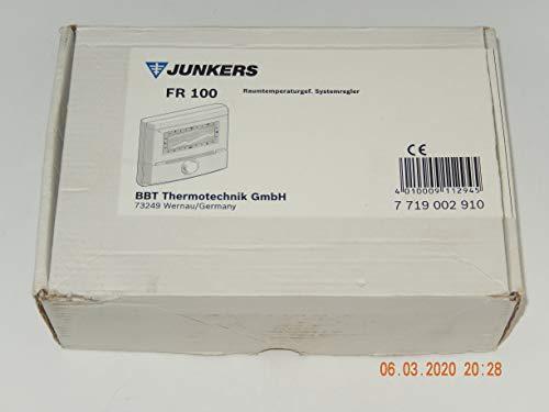 Junkers FR 100 Raumtemperaturregler / Raumregler / Regelung Wochenprogramm