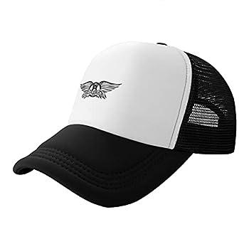Steven Tyler Trucker Hat Adjustable Ball Cap Unisex Black