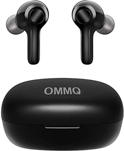 【2021最新版Bluetooth5.2 瞬間接続】Bluetooth イヤホン Hi-Fi高音質 低遅延 ワイヤレスイヤホン 自動ペアリング CVC8.0ノイズキャンセリング機能 AAC対応 最大25時間再生 Type‐C充電対応 マイク付き ハンズフリー通話 クリア通話 片耳/両耳 左右分離型 ブルートゥース イヤホン IPX7防水 Siri対応 音量調整可能 フィット感抜群 小型/軽量 技適認証済 ビジネス/WEB会議/テレワーク/仕事/通学/ウォーキング iPhone/Android対応 日本語説明書付き 1年間保証