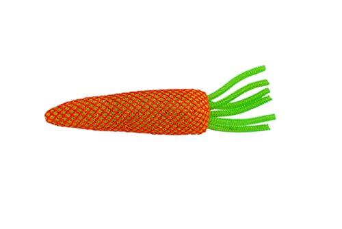 KONG CTN416 Katzenspielzeug Knabber-Karotten in Einheitsgröße, Sortiert