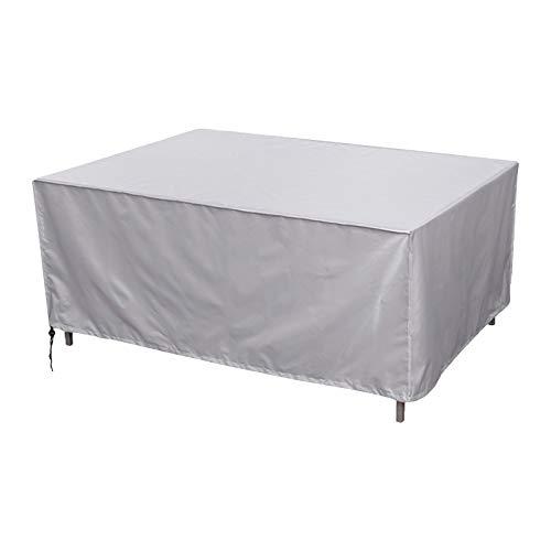 GAOQIANGFENG Funda de Muebles de Jardín, Funda Mesa Jardin Impermeables Anti-UV Funda Protección, para Cubierta de Muebles Interior y Exterior