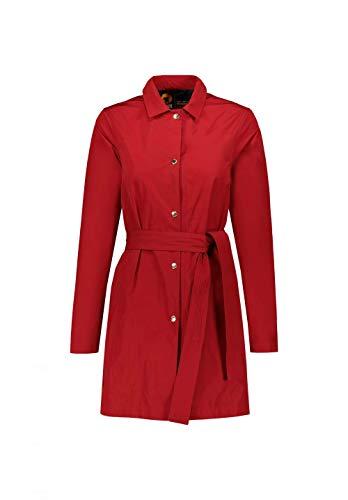 CIESSE PIUMINI Giacca Trench Donna Modello Leda Colore Rosso - Blu (40, Rosso)