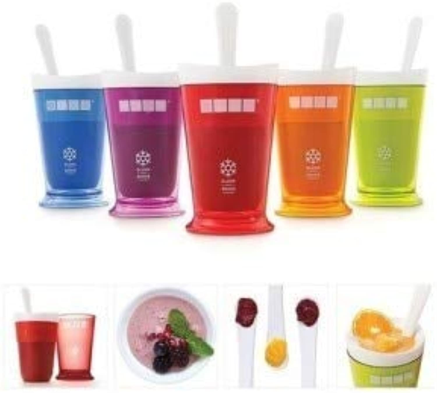 New Fruits Ju Cup Fruits Sand Slush & Shake Maker Slushy Milkshake ie Cup Summer Easy   Purple