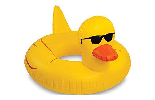 あひる アヒル フロート ボート 特大サイズ おもしろい 浮き輪 海 プール おもちゃ グッズ [並行輸入品]